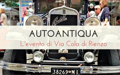 Autoantiqua: al via la Seconda Edizione della grande mostra delle Auto d'epoca