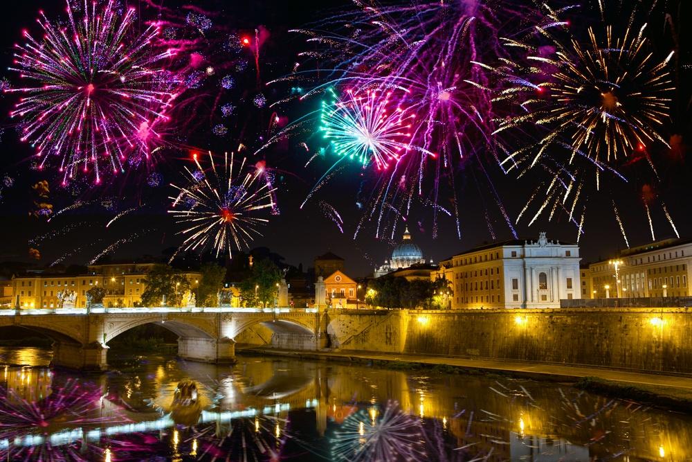 capodanno a roma in piazza 2018